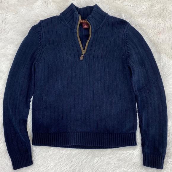 Brooks Brothers Turtle Neck Half Zip Sweater